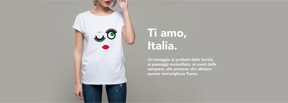 T-shirt | Ti amo, Italia