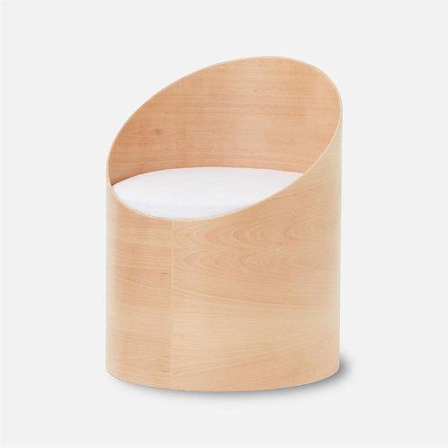 Pultrona | Poltrona in legno con vano contenitore