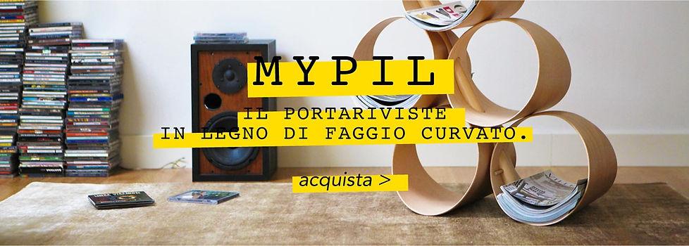 Portariviste in legno | Mypil