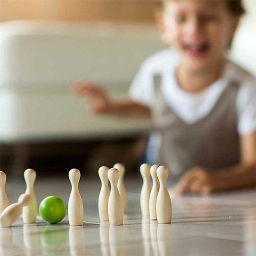 Mini Green Bowling | Gioco da tavolo in legno
