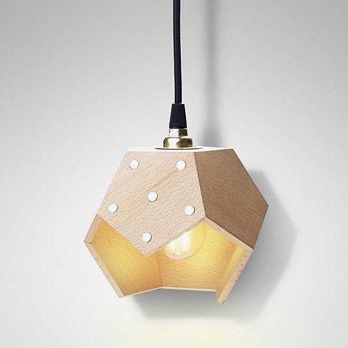 Basic Twelve Solo | Lampada magnetica a sospensione in legno
