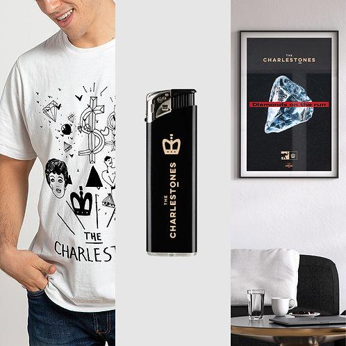 Diamonds pack   T-shirt + Accendino + Stampa