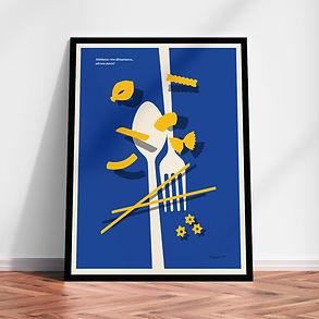 Adesso pasta! art print