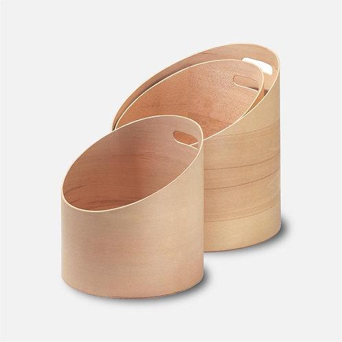 Onda | Contenitore in legno