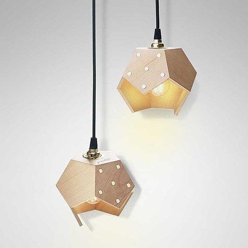Basic Twelve Duo | Lampada magnetica a sospensione in legno