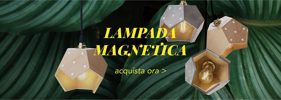 Basic Twelve Trio | Lampada magnetica a sospensione in legno