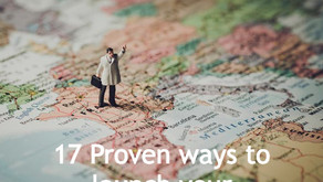 17 Proven Ways to Launch your International Career