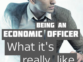 Being an economic officer – what it's really like
