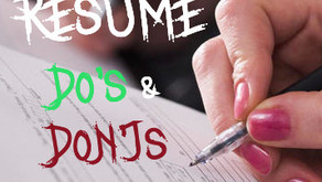 What resumes in international affairs (should) look like: 9 do's and don'ts