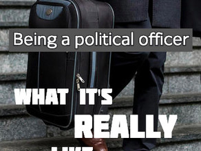 Being a political officer – what it's really like