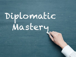 Mastering diplomacy, one week at a time