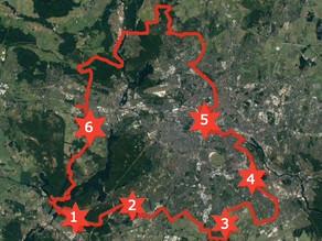 Biking the Berlin Wall