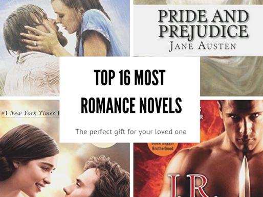 Top 16 Romance Novels