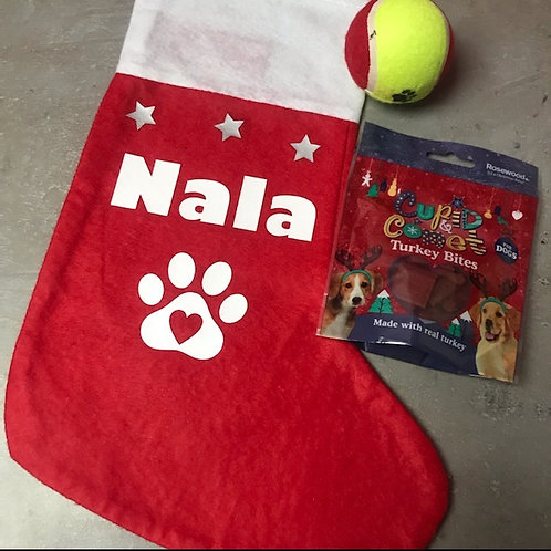 Chaussette cadeaux chien & chat