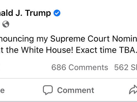 Supreme Court Nominee Will be Announced This Weekend!
