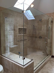 Step-Up Shower remodel, bathroom remodel