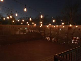 New Deck Jameson Manor