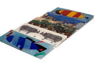 Giclee Print  Wall keyholder  30 x 10 x 1 cm