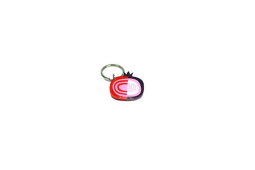 Pomegranate keychain