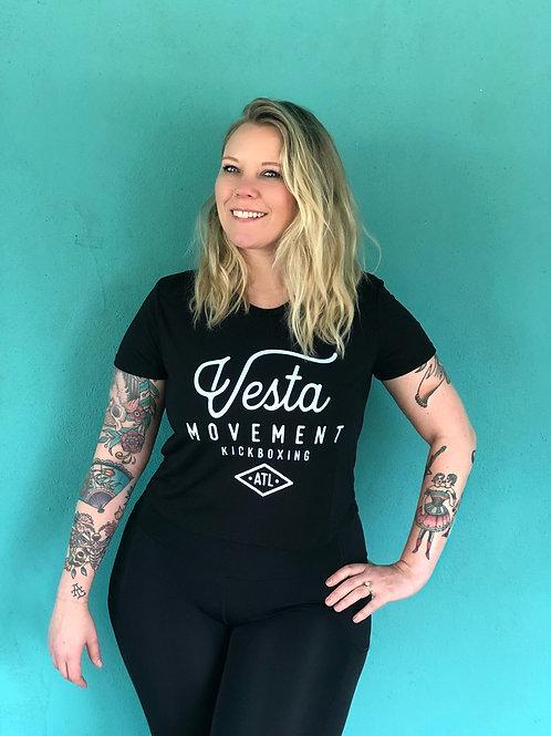 Vesta Black T-Shirt - Unisex