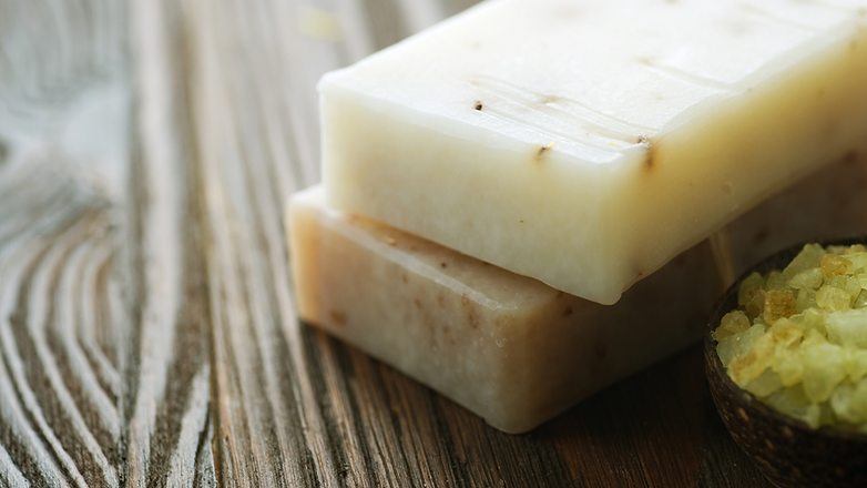 Honey Down Farm goat milk bar soap