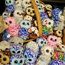 Lots of Ty Beanie Boo (TM) Owls