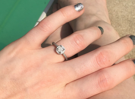 We're Engaged!