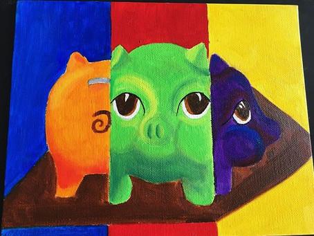 Spring 2016 | Oil Paint Art Class