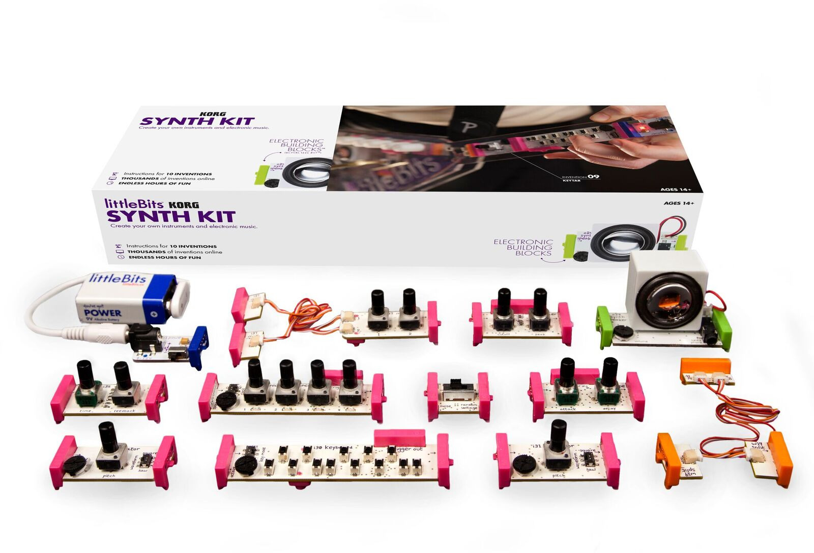 2014 littleBits | Synth Kit