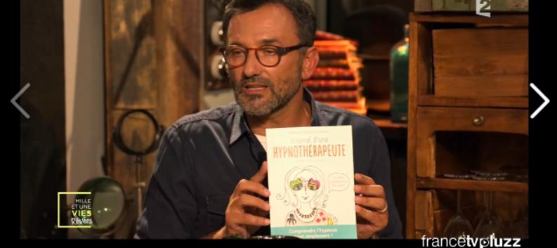 Fréderique Lopez présente le journal d'une hypnothérapeute