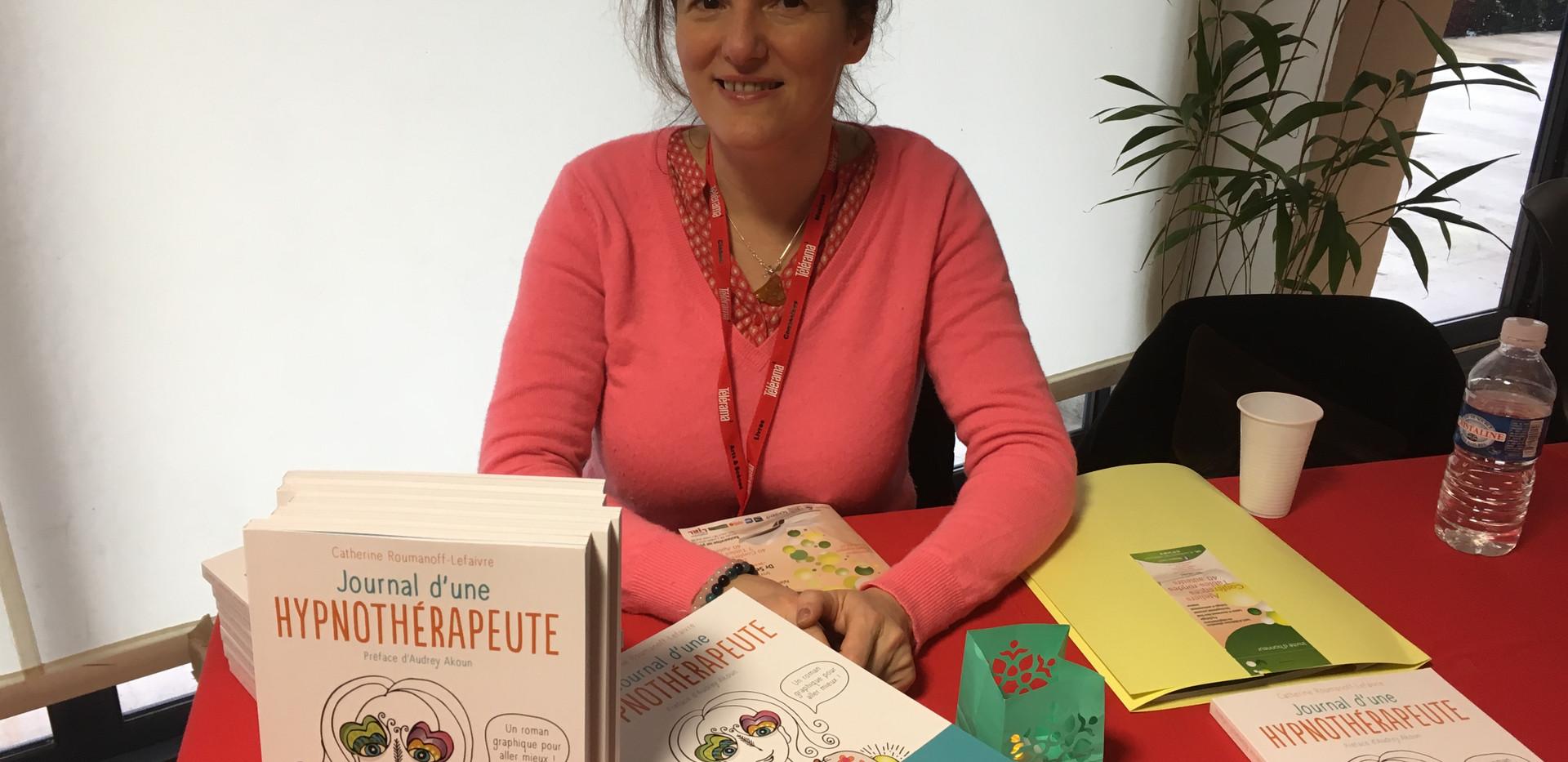 Catherine Roumanoff au salon de Lorient