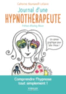 Couverture du livre le journal d'une hypnotherapeute, pour comprendre l'hypnose tout simplment
