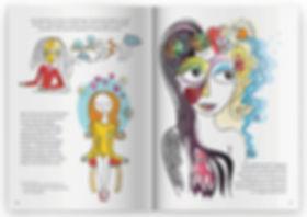Le journal d'une hypnothérapeute, pages illustrées
