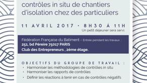 """Petit déjeuner débat GPCEE : """" Les contrôles in situ chez les particuliers : retours d'expériences"""""""