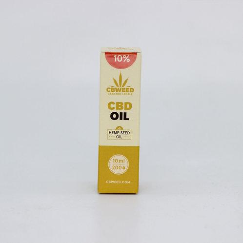 Olio aromatico al CBD 10% con olio di canapa
