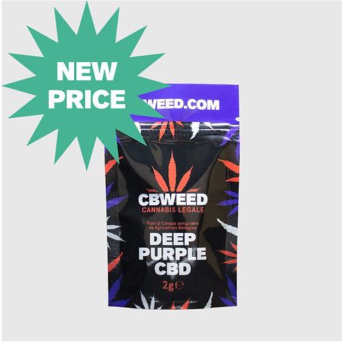 Deep Purple 2g - (Cannabis Light Cbweed)
