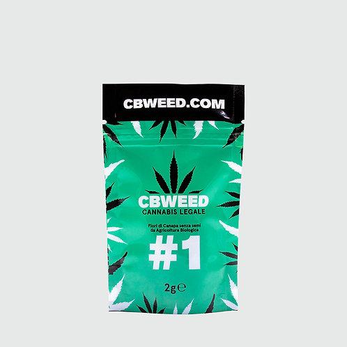 #01 – 2g (Cannabis Light Cbweed)