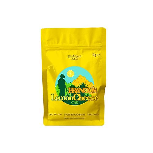 Franco's Lemon Cheese CBD - 2g (Cannabis Light Green House Collab.)