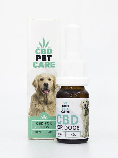 Olio aromatico per cani al CBD 4%