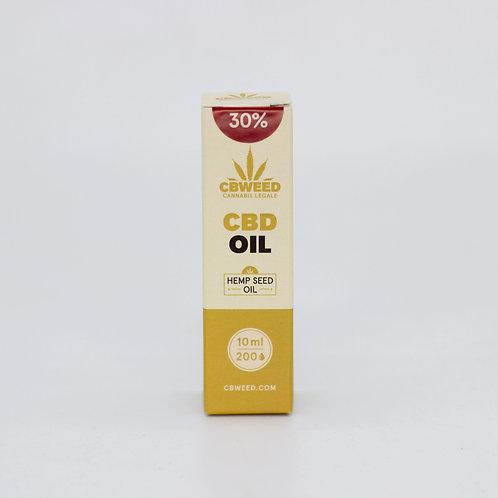 Olio aromatico al CBD 30% con olio di canapa