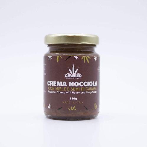 Crema Bio Nocciola con Miele e Semi di Canapa