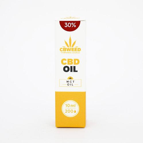 Olio MCT aromatico al CBD 30% con olio di cocco