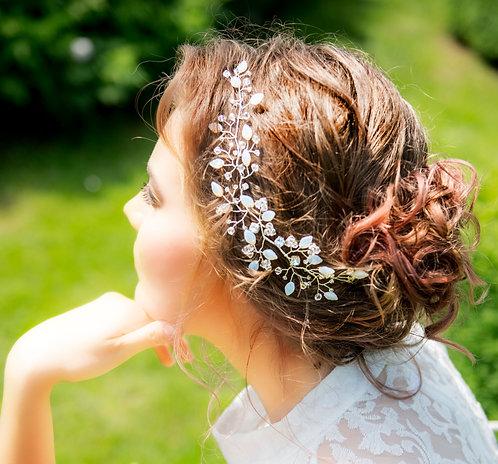 Gorgeous crystals hair vine