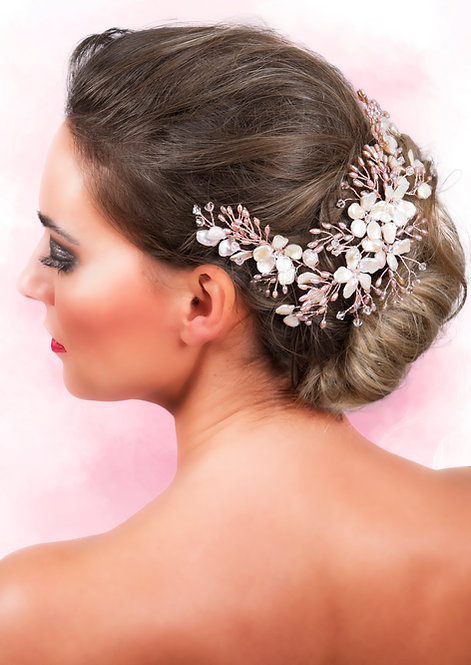 Keshi Pearls Headdress