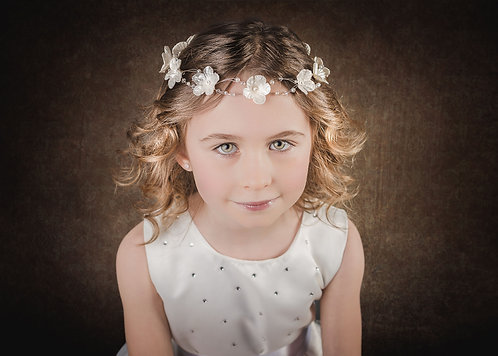 Girls' Headdress, Flower girl, Communion