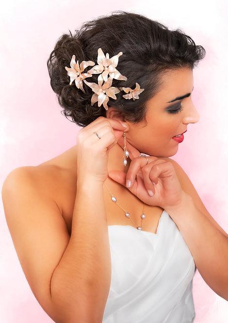 Big Flower Hair Pins