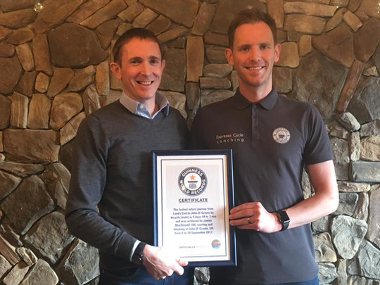 Guinness certificate makes it official