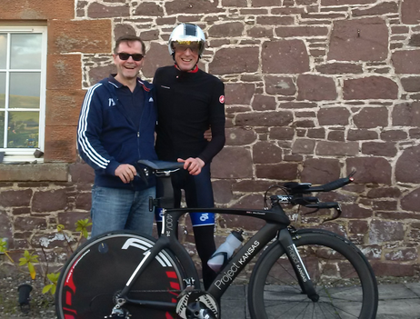 Local supported ride with Steve