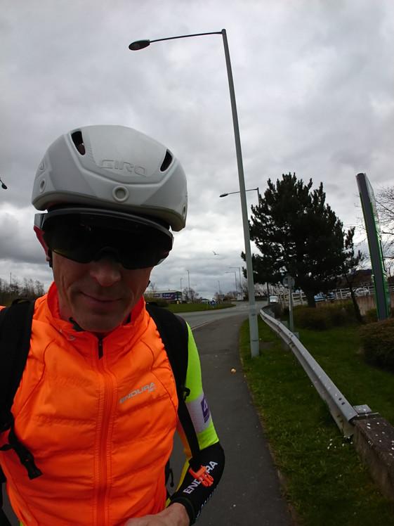 Training ride to England