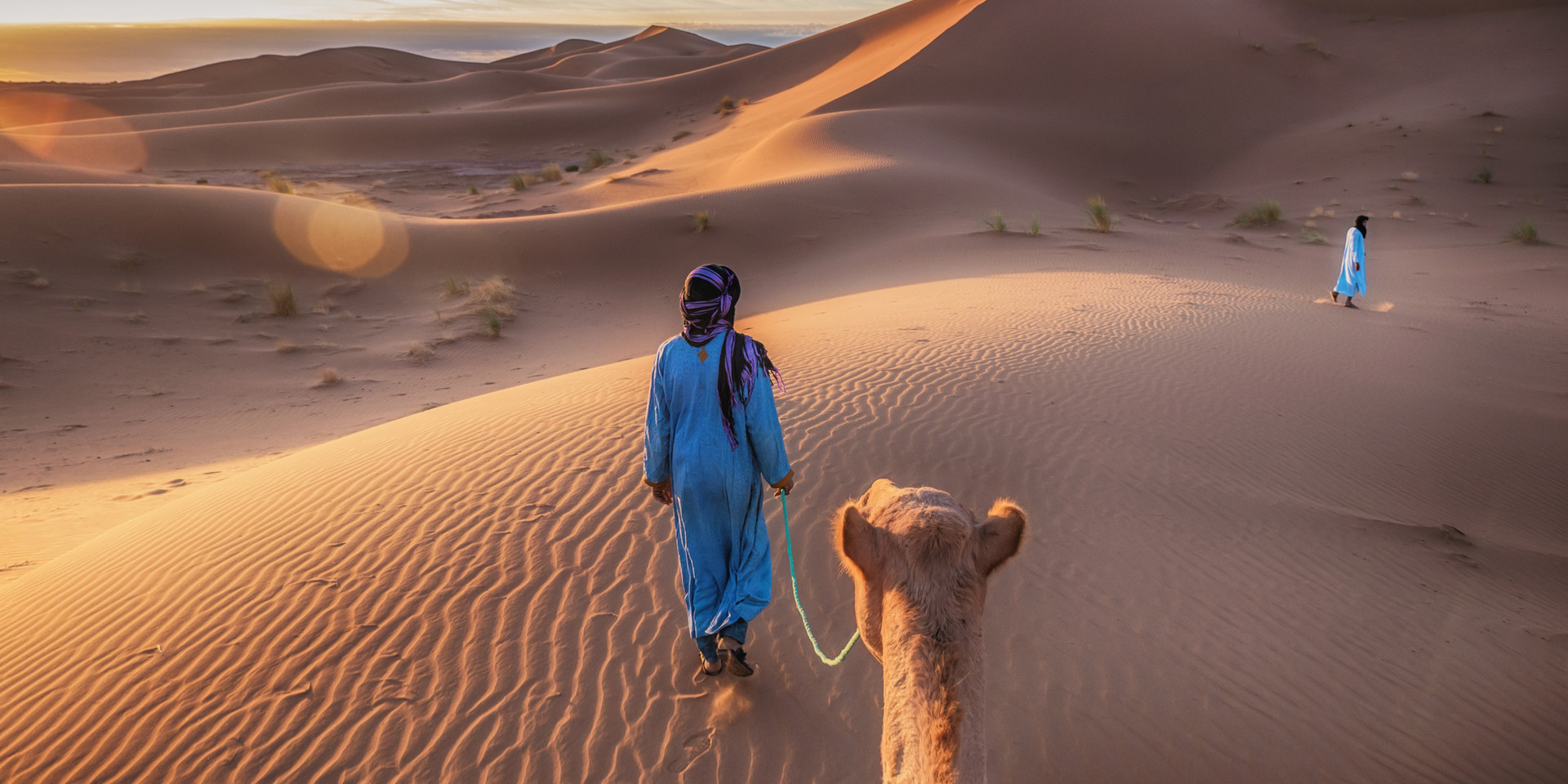 desert balade dromadaire